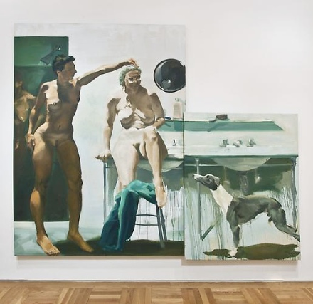 This image has an empty alt attribute; its file name is Eric-Fischl-Early-Paintings-Skarstedt-Gallery-2.jpeg