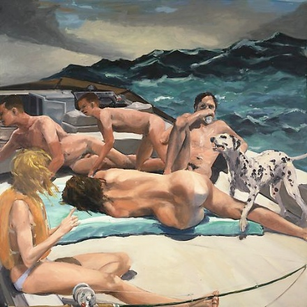 This image has an empty alt attribute; its file name is Eric-Fischl-Early-Paintings-Skarstedt-Gallery-6.jpeg